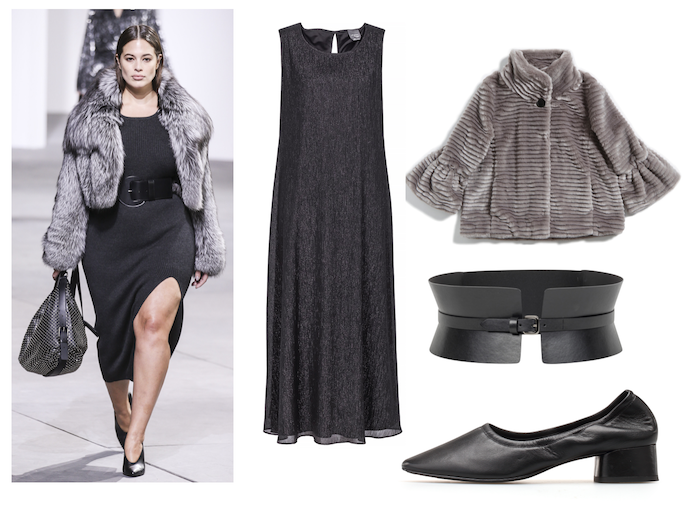 ashley graham kors curvy fur fashion